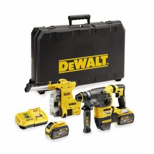 Rotary hammer DCH335X2, brushless,SDS+,Flexvolt, 2x54V/9.0Ah, DeWalt