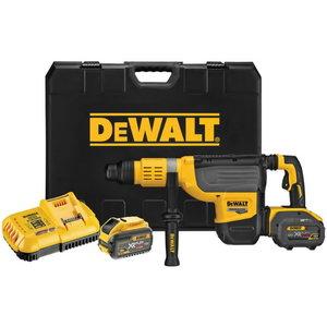 Cordless ham. drill DCH773Y2, SDS-Max, Flexvolt, 12Ah, DeWalt