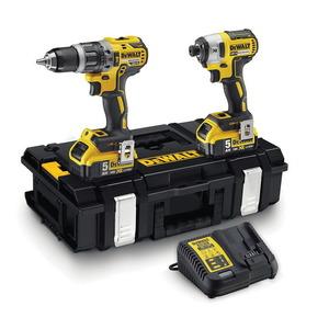 18V Combo DCK266P2: Impact drill + impact driver 18V / 5,0Ah, DeWalt