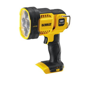 LED flashlight, 90-1000 lm, carcass in carton, DeWalt