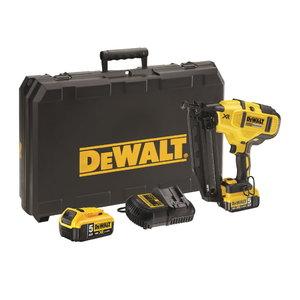 Cordless nailgun DCN660P2, brushless, 32-63mm, 18V / 5,0Ah, DeWalt