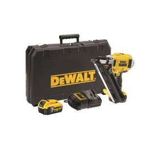 Cordless nailgun DCN695P2 brushless, 50-90mm, 18V / 5,0Ah, DeWalt