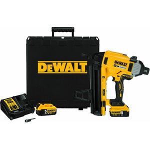 Akumulatora naglotājs DCN890P2, BL, 13-57mm, 18V / 5,0Ah, DeWalt