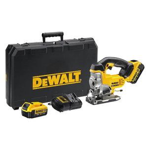 Akumulatora figūrzāģis  DCS331M2, 18V / 4,0Ah, DeWalt