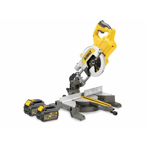 Cordless mitre saw DCS772T2, 216mm / 54V / 2,0Ah, DeWalt