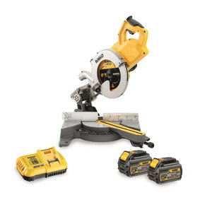 Cordless mitre saw DCS778T2, 250mm, Flexvolt, 54V / 2,0Ah, DeWalt