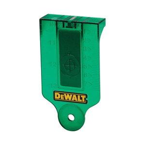 GREEN LASER TARGET CARD, DeWalt