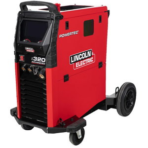 Poolautomaat Powertec i320C Advanced (DEMO komplekt), Lincoln Electric
