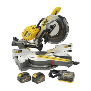 Cordless mitre saw DHS780T2A, 305mm, Flexvolt, 108V / 2,0Ah, DeWalt