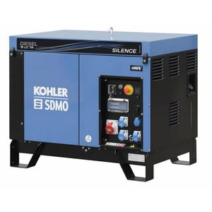 Electric generator DIESEL 15 LC TA SILENCE C5, SDMO