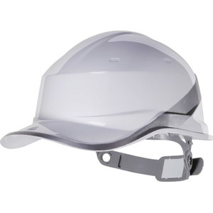 Aizsargķivere BASEBALL adjustable, balta DIAMOND V