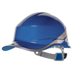 Protective helmet BASEBALL, adjustable, blue DIAMOND V, Delta Plus
