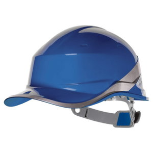 Protective helmet BASEBALL, adjustable, blue DIAMOND V, Delta Plus