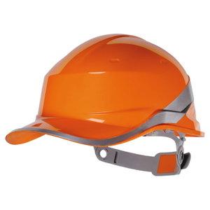 Apsauginis šalmas  BASEBALL DIAMOND reguliuojamas, oranžinis, Delta Plus