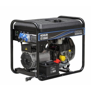 Generatorius vienfazis dyzelinis DIESEL 10000 A XL STAND-BY