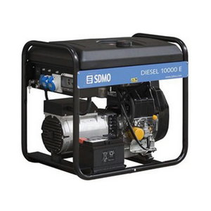 Elektrigeneraator DIESEL 10000 E XL C Verso 50M 40A, SDMO