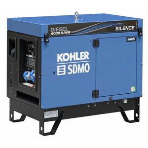 Strāvas ģenerators DIESEL 6000 A SILENCE AVR C5, SDMO
