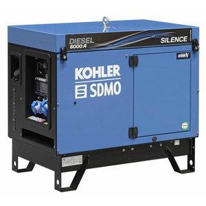 Strāvas ģenerators DIESEL 6000 A SILENCE C5, SDMO
