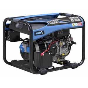 Strāvas ģenerators DIESEL 6000  A XL C5, SDMO