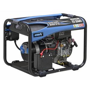 Generatorius vienfazis dyzelinis DIESEL 6000 E XL C5