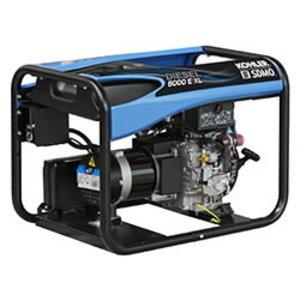 Elektrigeneraator Diesel 6000 E XL C5, SDMO