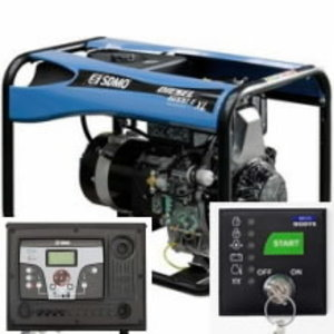 Elektrigeneraator DIESEL 6000 E XL E Verso 50M 40A, SDMO