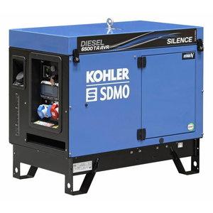 Elektrigeneraator DIESEL 6500 TA SILENCE AVR, SDMO
