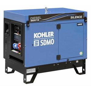 Strāvas ģenerators DIESEL 6500 TA SILENCE C5, SDMO