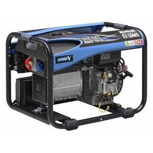 Elektrigeneraator DIESEL 6500 TA XL C5, SDMO