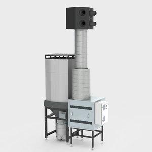 Suvirinimo dūmų filtravimo sistema Diluter, Plymovent