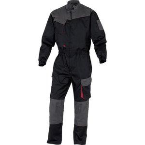 Töökombinesoon D-MACH, must/punane L, Delta Plus