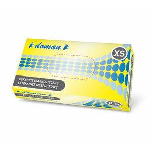 Gloves, latex, powderfree, disposable, XL