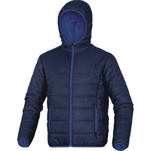 Jacket with hood Doon, navy, Delta Plus