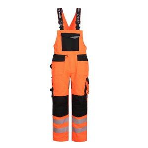 Bibpants Hi-vis Uranus Flexpro CL2 holsterpockets orange C48 C48-50, Pesso