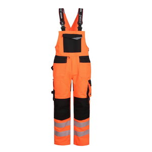 Bibpants Hi-vis Uranus Flexpro Hi-viz CL2, orange C52-54, Pesso