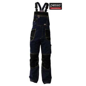 Traksipüksid DPCM  tumesinine/must 52-54/200, Pesso