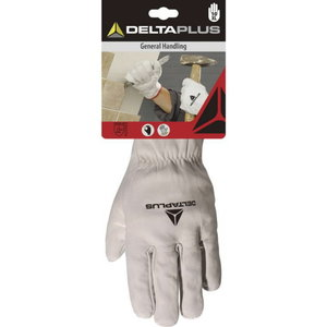 Pirštinės, karvės oda 10, Delta Plus