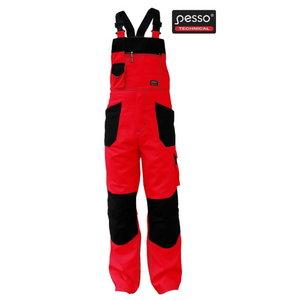 Traksipüksid Extra cotton, punased 188C60-62, Pesso