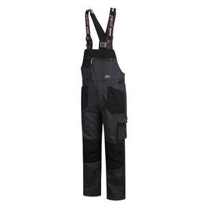 Bib-trousers  Stretch darkgrey, Pesso