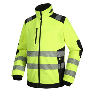Jacket Titan DS125G stretch, Hi-Vis yellow L, Pesso