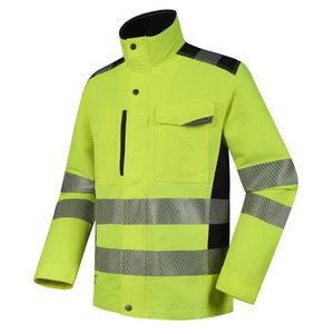 Hi-viz jacket Uranus DS135G, yellow L, Pesso