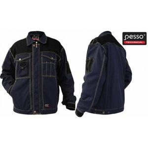 Workwear Jacket Canvas DSCM. dark blue/black L, Pesso