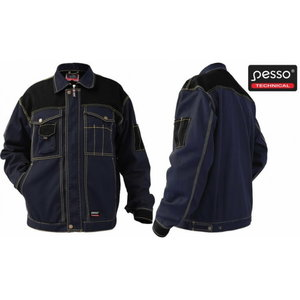 Workwear Jacket Canvas DSCM. dark blue/black, Pesso