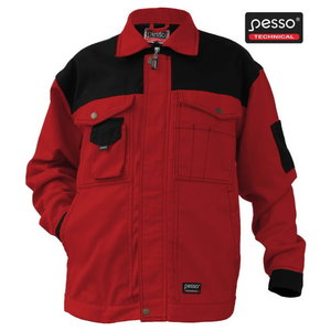 Jacket  Workwear Jacket  Canvas. red 58/188, , , Pesso