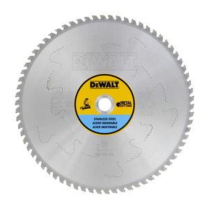 Griezējdisks metālam 355x2,15/25,4mm Z70 +10° MTCG+R DW872, DeWalt