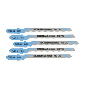 Saw blades for metal T118EOF 5 pcs, DeWalt