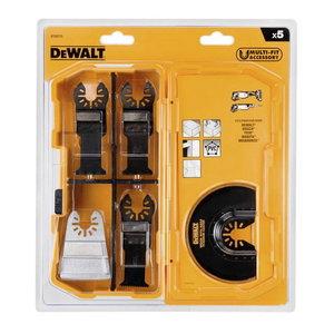 Multitool Blades set 5 pcs, DeWalt