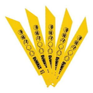 Saw blades for metal 152mm 24TPI 5 pcs, DeWalt