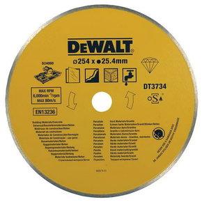 Diamond wet sawblade 254x1,6x25,4 mm. For D24000, DeWalt