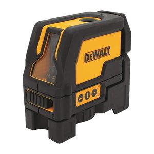 Cross line / spotlaser DW0822, red lines, AA batteries, DeWalt